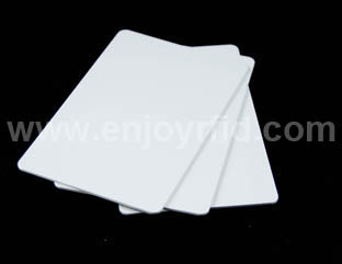 ISO White Blank 125khz Cards